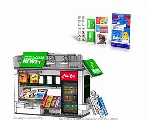 Oss Newsstand Pdf Lego Instructions And Sticker Pack
