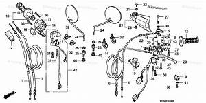 Honda Motorcycle 2000 Oem Parts Diagram For Handle Switch