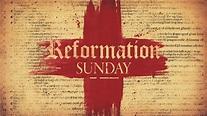 Reformation Sunday   Bethany Lutheran Church