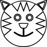 Coloring Smiley Face Happy Smiling Cartoon Cat Printable Pages Smile Outline Sad Faces Clipartmag Print Frowny Getcolorings Outlines Getdrawings Drawing sketch template