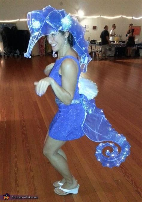 ethereal seahorse halloween costume contest  costume