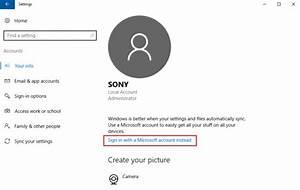Microsoft Account Sign In Error