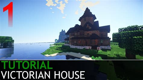 minecraft   build  victorian house part  youtube