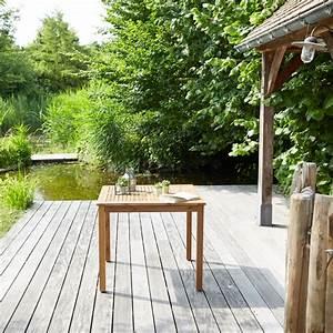 Salon De Jardin Acacia : salon de jardin en bois d 39 acacia 4 places bois dessus bois dessous ~ Teatrodelosmanantiales.com Idées de Décoration