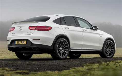 mercedes amg glc  coupe uk wallpapers  hd
