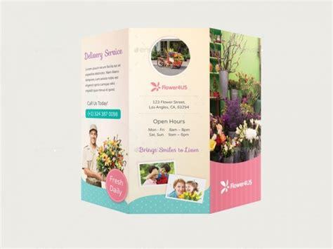 florist brochure templates psd vector eps jpg