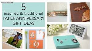 5 Traditional Paper Anniversary Gift Ideas For Her