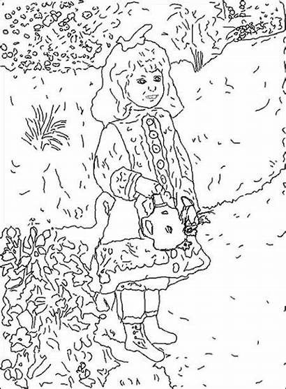 Renoir Coloriage Coloring Famous Paintings Coloriages Painting