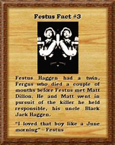 Festus Guide Festus Quotes