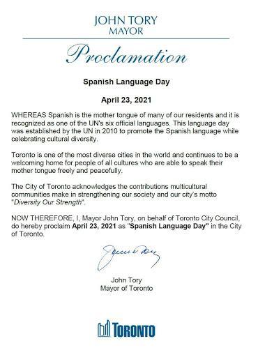 El Popular - Abril 23, proclamado como el día del idioma ...