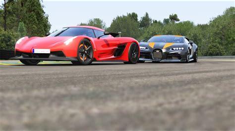 Koenigsegg agera r vs bugatti chiron pur sport at highlands. Koenigsegg Jesko Absolut vs Bugatti Chiron Super Sport 300+ at La Sarthe ( No Chicane ) - YouTube