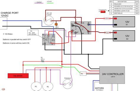 Power Wheels Wiring Diagram Modified