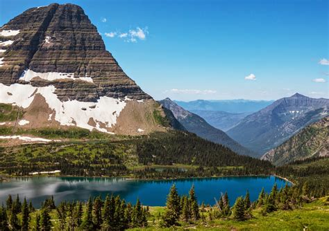 day hiking trails hike  great mountain vistas  glacier np