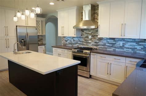 White Shaker Rta Cabinets Pictures Of Tile Floors In Kitchens Cream Kitchen Island Task Lighting Powell Overhang White Dark Orange Tiles
