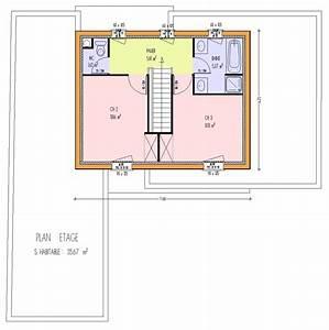 maison bois 3 chambres 12300 m2 3 chambres loire With plan maison 1 etage 3 chambres