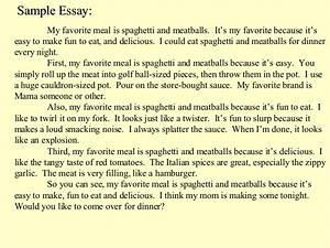 Student Life Essay In English Essay About Favorite Food Pasta High School Years Essay also Business Essay Sample Essay My Favorite Food Ap John Updike Essay Essay My Favorite Meal  Student Life Essay In English