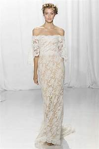 40 best wedding dresses from bridal fashion week fall 2017 With off the shoulder wedding dresses 2017