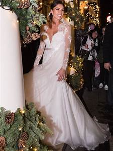 The Most Beautiful Celebrity Wedding Dresses - Heart