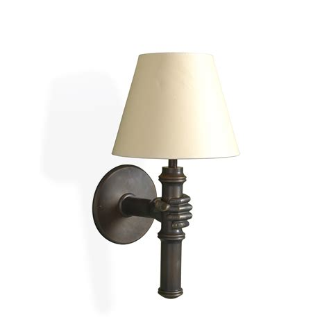the hand and bamboo wall light traditional sconces dering