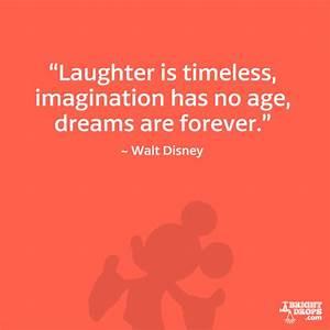 12 Walt Disney ... Laughing Disney Quotes