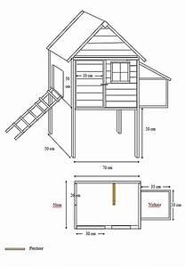 Plan Poulailler 5 Poules : construire poulailler facile ~ Premium-room.com Idées de Décoration