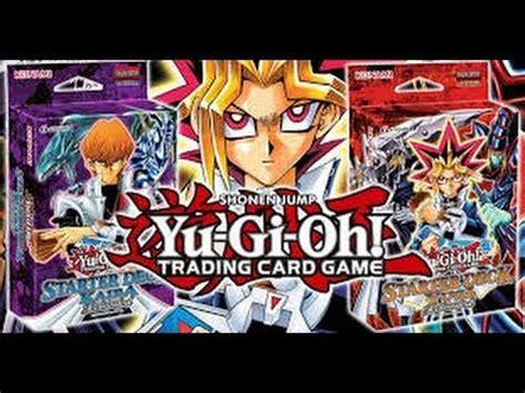 yugioh starter deck yugi kaiba reloaded opening youtube