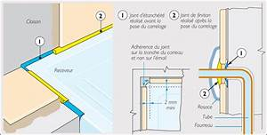 Etancheite Bac A Douche : joint entre carrelage et receveur 13 messages ~ Premium-room.com Idées de Décoration