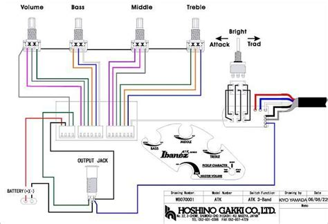 photo  wiring diagram  ibanez atk  repairs