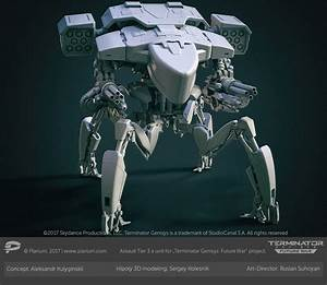 Sergey Kolesnik Skynet Assault Battle Unit Tier 3
