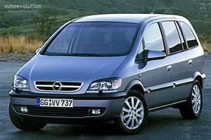 Opel Zafira Specs - 2003  2004  2005