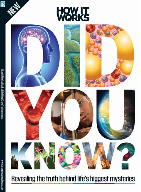 Discover amazing facts with the How It Works Book of Did ...