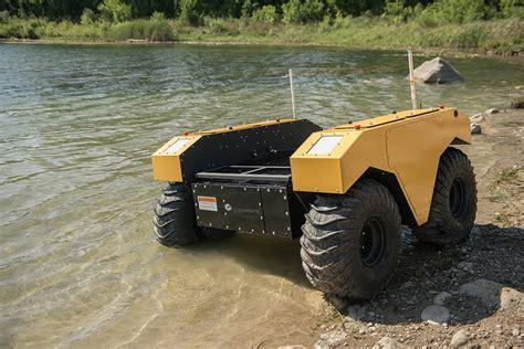 clearpath robotics launches warthog ugv  amphibious