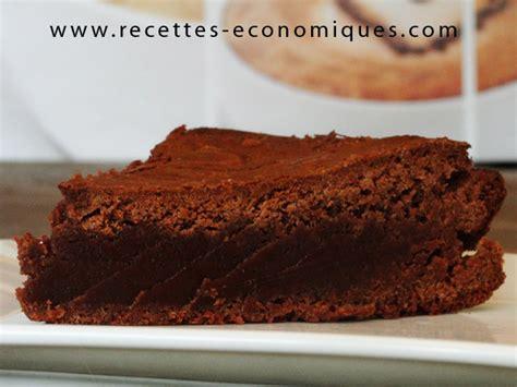 recette dessert avec nutella gateau brownie au nutella et avec le thermomix