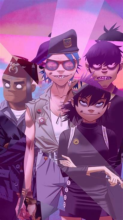 Gorillaz Mobile Iphone Wallpapers Android Background Ny