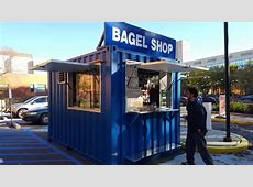 Container Pop Up Shop Portable Concession Stands
