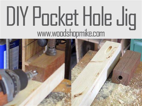 Diy Pocket Hole Jig  Wood Shop Mike