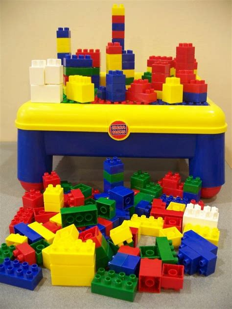 mega bloks table amp 175 blocks compatable lego duplo 562 | 3f74fdec9fb6942bb99406f933c22784 mega blocks lego duplo