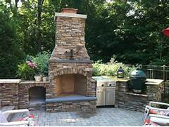 Outdoor Kitchens And Fireplaces by Grand Rapids Fireplace Outdoor Kitchen And Pool