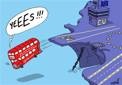 brexit cartoon europe