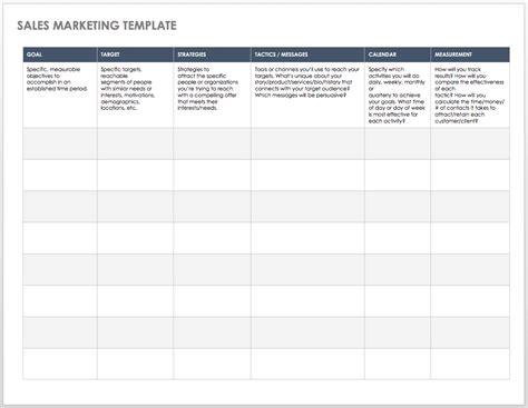 sales pipeline templates smartsheet