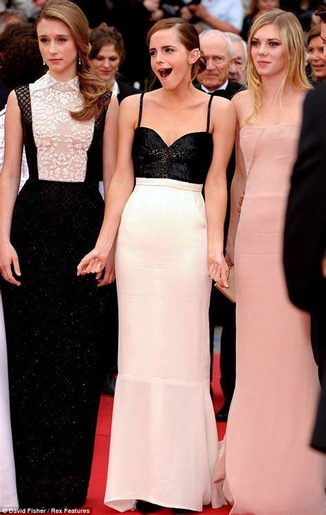 Cannes Film Festival Emma Watson Takes Centre Stage