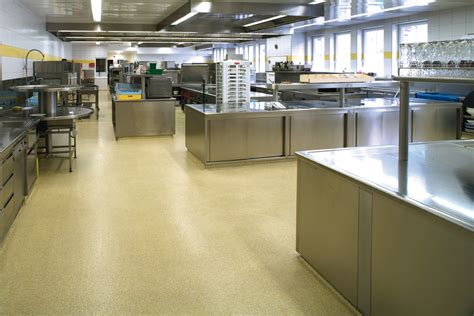 Kitchen Floor Finishes Magnificent For Polished Cem On