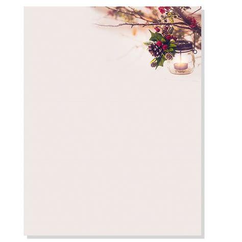 Glowing Lantern Letterhead DP2017022 : Designer Papers