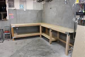 Custom Garage Workbench Plans