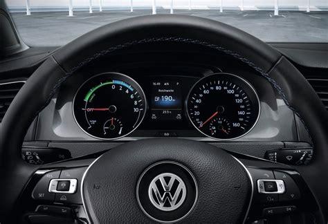 volkswagen  golf electric vehicle view