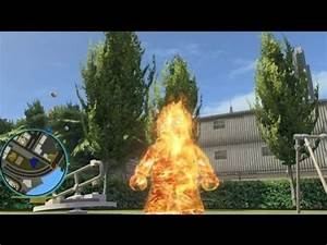 LEGO Marvel Super Heroes - Human Torch Free Roam Gameplay ...