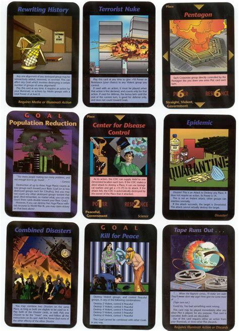Illuminati The Card Jogo Dos Illuminatis Inwo