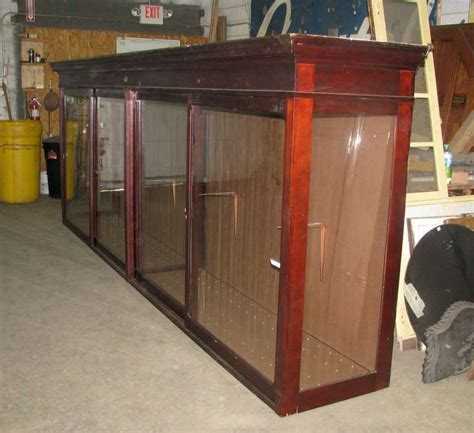 Display Cabinets For Sale - large mahogany display cabinet for sale at 1stdibs