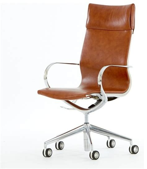 modern leather desk chair mercury high back leather office chair modern office