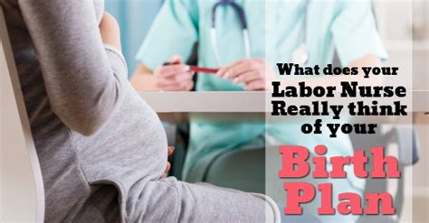 Birthing Plan For Hospital Delivery